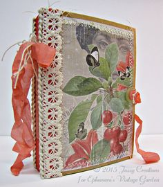 Here is a you tube video showcasing this gorgeous junk journal, so you can see each and every page! This is just a sample of what the inside