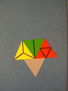 Playing with Montessori triangles  DSCN5207 by Harmony Freida, via Flickr