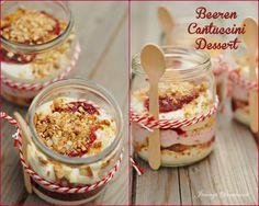 Beeren Cantuccini Dessert