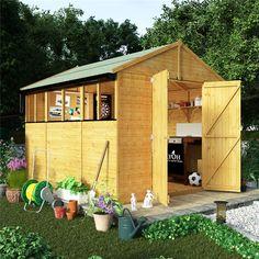 BillyOh 5000 Range - Budget Wooden Sheds - Garden Buildings Direct