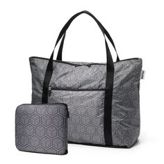 Oh, the pack-it/haul-it challenges of everyday travel adventures. This ingenious bag is loaded with clever zippers and pockets that make travel easier – whether you're headed to the gym, taking the kids to the pool, or escaping for the weekend. The cFold even includes a back sleeve that slips over the handles of your rolling luggage, preventing it from tumbling off as you dash around town or the airport. It's machine washable and zips down to one-tenth its expanded size, so you can store it…