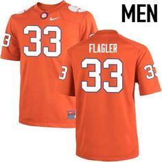 LEGENDS Clemson Tigers Terrance Flagler 33 Football Replica Jersey Football  Jerseys 7594f7a96