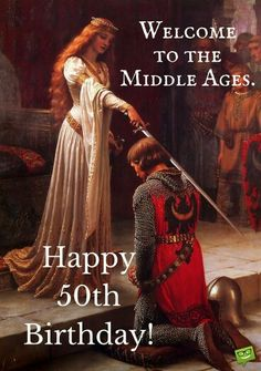 Welcome to the middle ages.