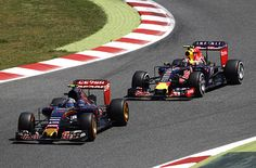 Toro Rosso's Carlos Sainz Jr. and Red Bull's Daniil Kvyat have escaped penalty from the stewards following their incident at the Formula 1 Spanish Grand Prix. RACER.com
