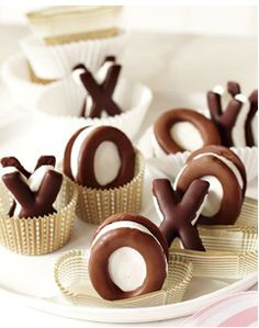 x's and o's- marshmallow style