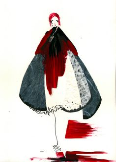 Hellen van Rees fashion illustration #fashionillustration #fashion #illustration #hellenvanrees