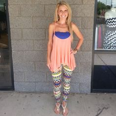 Teach Me to Tango: Leggings www.privityboutique.com #privityboutique aztec leggings check us out on instagram @privityboutique Facebook to! Tons of new leggings