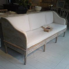 Swedish Gustavian Bench