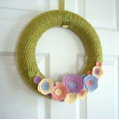 Modern Wreaths for Front Door | Summer Wreath, Front Door Wreath, Country Wreath, Lilac Wreath ...