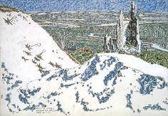 David Milne  Ablain Saint Nazaire Church... David Milne, Canadian Painters, Edward Hopper, American Art, Printmaking, City Photo, Abstract, Artist