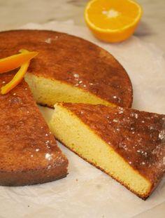gâteau orange amande