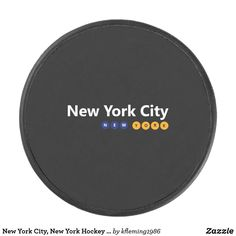 Shop New York City, New York Hockey Puck created by Personalize it with photos & text or purchase as is! Hockey Puck, New York City, New York, Nyc