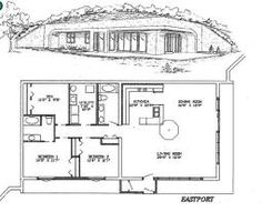 rammed earth home designs | large selection of earth sheltered home designs. These are homes ...