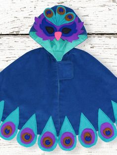 Peacock Cape sewing pattern