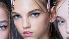 """At more than 6 feet tall, model Molly Bair has taken high fashion runways by storm. CNN talks to the 17-year-old who never thought she had """"the look."""""""