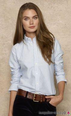 Выкройка женской приталенной рубашки | Готовые выкройки и уроки по построению на Выкройки-Легко.рф