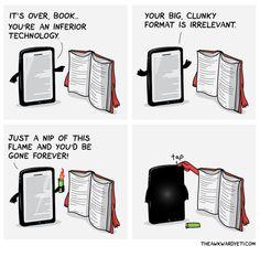 Book vs Tablet