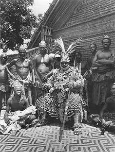 Democratic Republic of Congo (Belgian Congo) - Kuba King Photogaphed in 1947 by Eliot Elisofon   Flickr - Photo Sharing!
