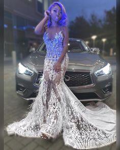 Prom Girl Dresses, Best Prom Dresses, Long Dresses, Sexy Dresses, Formal Dresses, Prom Dress With Train, Birthday Goals, Prom Looks, Prom Ideas