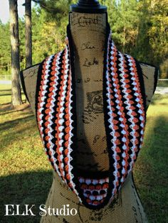 Kodey's Scarf by ELK Studio - A Free Crochet Scarf just for YOU!