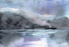 Agata Kwiatkowska, watercolor, 24x17 cm