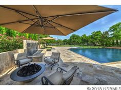 Waterfront Resort Style Estate on Central Florida's East Coast - Orlando Business Journal Florida East Coast, Central Florida, Pine Bluff, Business Journal, Resort Style, Orlando, Real Estate, Patio, Outdoor Decor