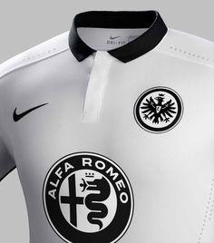 7af6b8c3a The new Nike Eintracht Frankfurt Home Kit features a fresh pinstripes  design