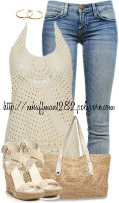 """Halter Top: Summer"" by mhuffman1282 on Polyvore"