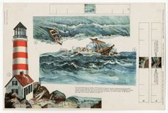 75.2373: Shipwreck | paper toy | Paper Dolls | Dolls | National Museum of Play Online Collections | The Strong