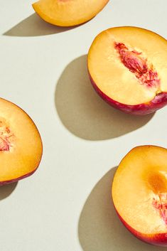 Nectarines Creative Director: Bielle Bellingham  Photographer: Micky Wiswedal Creative Director, Plum, Peach, Pastel, The Unit, Fresh, Food, Cake, Essen