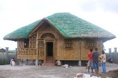 BY: JANO Nipa hut maker Bamboo House, Cabin, House Styles, Modern, Home Decor, Janus, Trendy Tree, Decoration Home, Room Decor