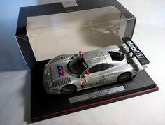 Maisto 1998 1:18 Mercedes Benz CLK GTR D2 #2 Diecast Model LeMans GT Racing BOX #Maisto #MercedesBenz