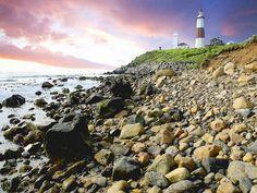 'Lighthouse on the rocks' von Dirk h. Wendt bei artflakes.com als Poster oder Kunstdruck $18.03