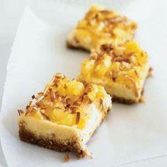 Piña Colada Cheesecake Bars | MyRecipes.com