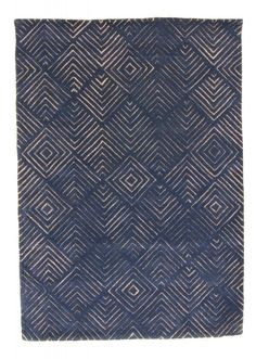 Marseille blå Trendcarpet