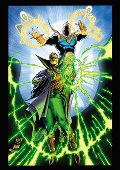 http://www.deviantart.com/art/Doctor-Fate-and-Green-Lantern-659084028