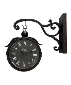 Another great find on #zulily! Piccadilly Wall Clock #zulilyfinds