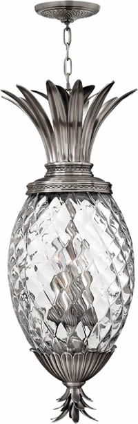 Hinkley Lighting 2222 Plantation Outdoor Hanging Lantern Solid Brass or Cast Aluminum with choice of finish and Clear Optic Glass on a Pineapple Shaped ...  sc 1 st  Pinterest & Hinkley Lighting Plantation 5 Light Chandelier u0026 Reviews   Wayfair ... azcodes.com