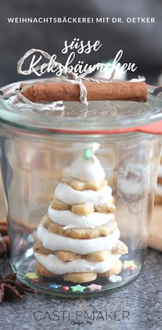 Adventszeit ist Plätzchenzeit und daher veranstalte ich gemeinsam mit Dr. Oetker eine Blogparade Weihnachtsbäckerei. Bei mir gibt es das Rezept für diese süßen Keksbäumchen mit einem Nuss-Mürbeteig als Grundlage. Die genaue Anleitung gibt es in meinem Beitrag.  WERBUNG #plätzchen #weihnachtsbäckerei  #blogparade