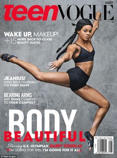 Gabby Douglas and Simone Biles serve Black Girl Magic on the cover of Teen Vogue - FroBabies - Where Melanin Pops! Team Usa Gymnastics, Olympic Gymnastics, Gymnastics History, Gymnastics Poses, Gymnastics Pictures, Cheerleading, Black Magazine, Vogue Magazine, Teen Vogue
