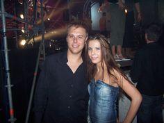 onze danseres Alexa en Armin van Buuren