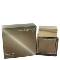 Euphoria Intense Cologne for Men by Calvin Klein - 3.4 Oz EDT