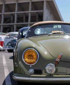 volkswagen classic cars and parts Porsche Autos, Porsche Sports Car, Porsche Cars, Porsche 365, Porsche 356 Outlaw, Porsche 356 Speedster, Retro Cars, Vintage Cars, Combi Split
