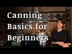 What is canning? How do you start canning? What tools do you need? This is a comprehensive video that attempts to give a basic understanding of home canning Water Bath Canning, Canning Tips, Home Canning, Canning Recipes, Canning Pressure Cooker, Pressure Cooker Chicken, Pressure Cooker Recipes, Canning Granny, Backyard Farming