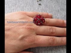 Enough Jewelry Insurance? Diy Jewelry Rings, Diy Jewelry To Sell, Diy Rings, Beaded Rings, Simple Jewelry, Beaded Jewelry, Jewelry Making, Pearl Jewelry, Jewelry Ideas