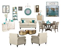 """""""Untitled #283"""" by mignjor on Polyvore featuring interior, interiors, interior design, home, home decor, interior decorating, Pier 1 Imports, Cultural Intrigue, Pillow Decor and Halston"""