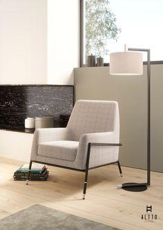 ALTTO | LAUREL Armchair | Contemporary Living room decor inspiration