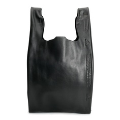 Recycle Leather Shopper Medium fashion, black, cast of vices