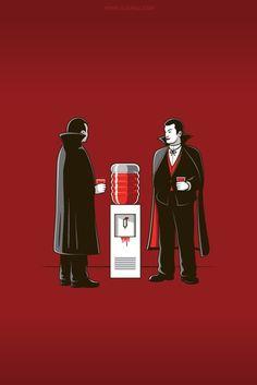 We're all vampires #illustration