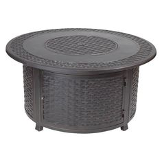 Fire Sense - Bellante Woven Cast Fire Pit - Bronze, 62195